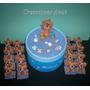 20 Souvenirs Nacimiento + Central Bebe Porcelana Fria
