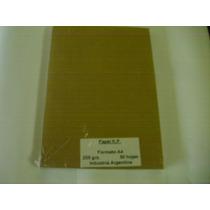 Papel Kraft Puro 400 Gr Tamaño Oficio Pack X 100 Hojas