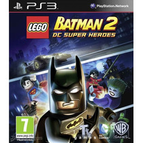 Ps3 Lego Batman 2 Dc Super Heroes - Local - Garantía - 23hs.