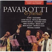 Pavarotti & Friends: Mike Oldfield, Otros
