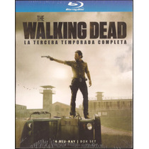 The Walking Dead - La Tercera Temporada / 4 Blu-ray / Latino