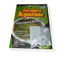 Filtro Bombilla De Mate 5 Blisters X 2 U. $ 11,98 C/blister