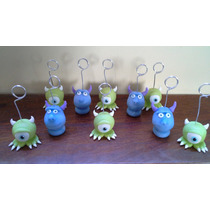 Souvenirs De Monster Inc,portafotos, Lápices En Porcelana Fr