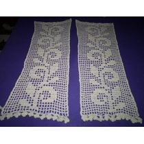 Cortinas Tejidas Al Crochet