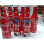 Coca Cola Edicion Limitada Botella Aluminio Brazil 2014