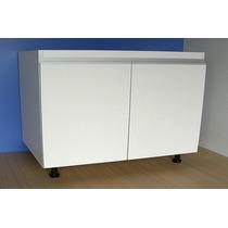 Mueble De Cocina Modulo 0.90 M. Melamina 18+abs+aluminio
