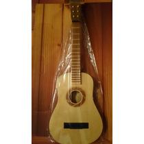 Guitarra De Madera Infantil Criolla Numero 7 Paisanita