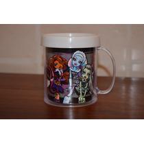 Lote 10 Tazas Monster High Plastica Personalizada