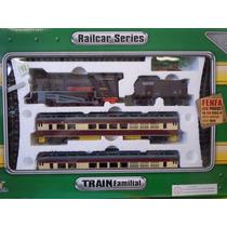 Tren Fenfa Escala 1:87 -loco.diesel O Vapor -325 Cm. De Vias