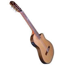 Guitarra Clásica La Alpujarra 300kec Con Mic