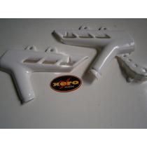 Juego Cubre Cuadro Plastico Honda Xr 250 Tornado Blanco