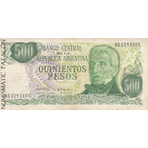 Billete 500 Pesos Ley López / Ianella - Serie C