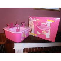 Lavavajillas Barbie Con Canilla De Verdad Y Desagote