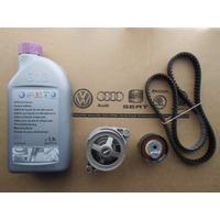 Kit Original Correa+tensor+bomba+refrigerante Vw Gol Trend