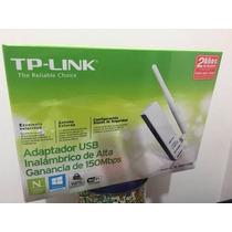 Adaptador Usb Wi-fi Tp-link Tl-wn722n 150mbps