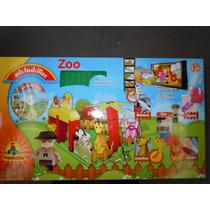 Mis Ladrillos Preescolar Zoo- 45 Piezas En Caja -2 Años Up