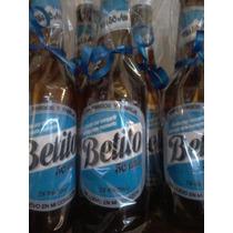 Botellitas De Cerveza, Vino, Gaseosa Cumpleaños De 18 O 50