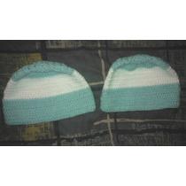 Gorro De Argentina - Tejido Al Crochet