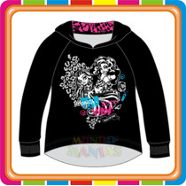 Buzo Friza Con Capucha Estampada Monster High - Mundo Manias