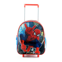 Mochila Carro 12 Pulgadas Spiderman Licencia Original