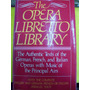 The Opera Libretto Library