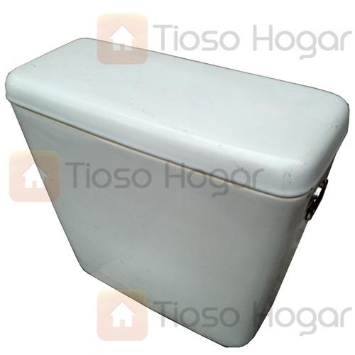 Mochila deposito de colgar loza porcelana sanitaria for Precios de inodoros