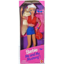 Barbie My And My Mustang - Mattel 1994 - Para Coleccionar!!