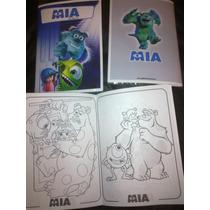 Libro Para Colorear Souvenir Monsters University Mi Villano