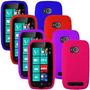 Oferta! Funda Silicona Nokia Lumia 710 Cover De Goma