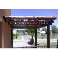 Colocacion O Cerramientos D Cañas De Bambu, Pergolas Tronco