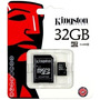Memoria Micro Sd 32gb Clase 10 Hc Kingston Lg Samsung Sony
