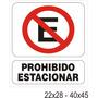 Cartel Señalizacion Industrial Alto Impacto Local Belgrano!!