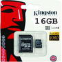 Memoria Micro Sd 16gb Clase 10 Kingston Para Lg Samsung Sony