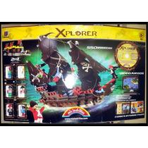 Mis Ladrillos Xplorer Piratas Con Cd (tamaño Gigante)