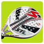 Paleta Padel Steel Custom Air Kaos 45mm Carbono Funda Paddle