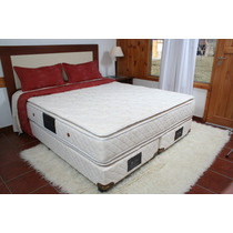 Sommier Coihue-suite Queen Size 1.60mts. Hotelería Alta Gama