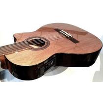 Guitarra Criolla Romantica Con Conrte Y Ecualizador Glpmusic