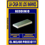 Iman Neodimio 50x20x5mm - El Mejor Precio!!!