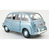 Fiat 600 D Multipla Rai - Unique Replicas / Mini Miniera 1/8