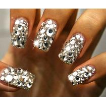Strass Cristal De Alto Brillo De 3 Ó 4 Ó 5 Mm Uñas Nail Art