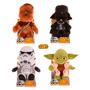 Muñeco Peluche Star Wars R2d2 Yoda Darth Chewbacca Original!