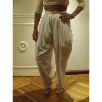Excelente Pantalón Di Domenico - Color Blanco - Talle S
