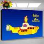 Cuadro De The Beatles Yellow Submarine Y Todas Las Bandas