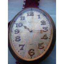 Antiguo Reloj Suizo De Colgar, 8 Dias De Cuerda