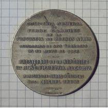 Medalla Ferrocarril Provincia Buenos Aires Compañía General