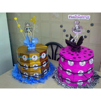 Bolsitas Golosinero,torta De Cajitas Monster High Y Otros