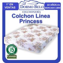 Oferta! Colchon Cannon Princess 20cm Alto 85kg 2plaza140x190