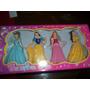 Caja Con 4 Muñequitas De Princesas
