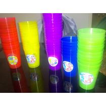 Vasos Plásticos Souvenirs Personalizados X10 Para Golosinas