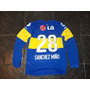 Camiseta Boca Juniors 2011-2012 Manga Larga N28 Sanchez Miño